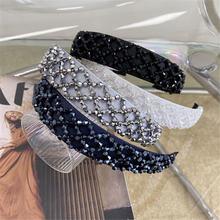 Хрустальные аксессуары для волос с бисером ретро Плетение ручной