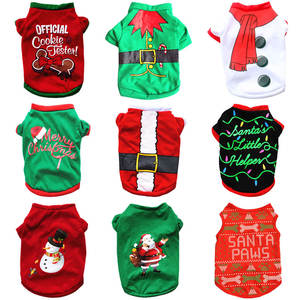 Christmas-Dog-Clothes Clothing Dogs-Costume Pets Warm Dog Small Chihuahua Yorkshire Medium