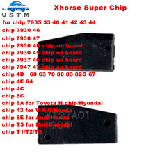 Xhorse VVDI супер чип транспондер для ID46/4D/4C/8C/8A/T3/для Toyota H чип для VVDI2 VVDI ключ инструмент и мини ключ инструмент