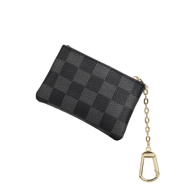 KYYSLO Luxury Clutches Women Bag Take A Card Coin Bag Classic Zipper Durable Fashion Bag Accessories Pu Leather Card Package