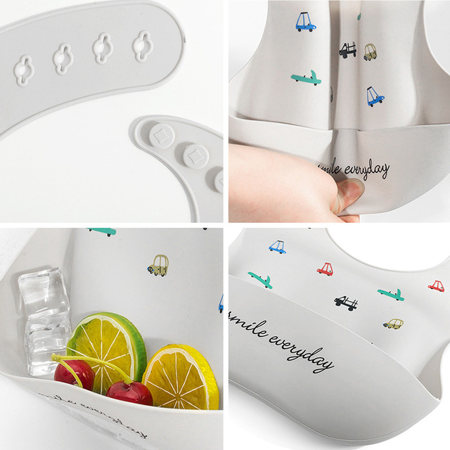 Baby Bib with Spoon 6