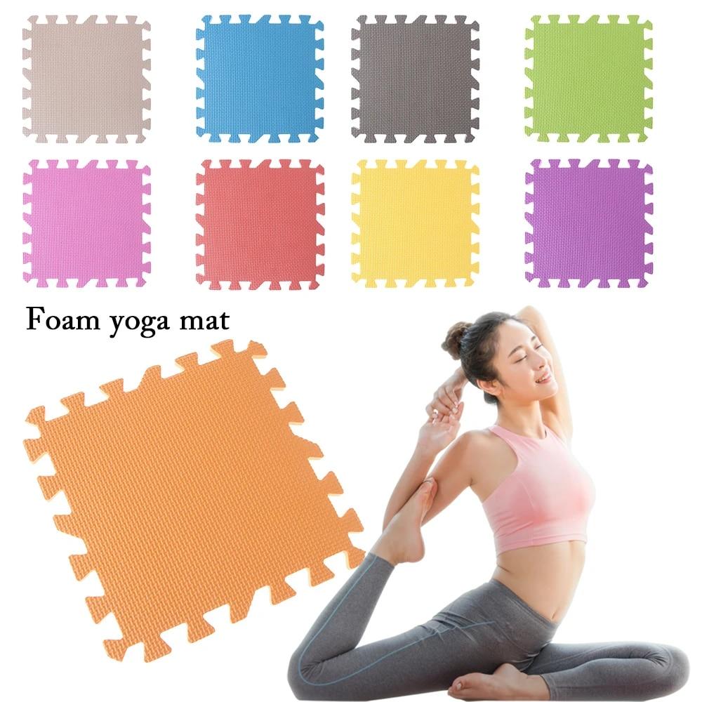 Exercise Fitness Interlocking Floor Pad EVA Foam Mat Baby Play Pad Yoga Mats