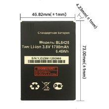 1700mAh Substituição Recarregável BL6425 BL-6425 fs 454 Acumulador Bateria Li-ion Bateria Para voar fs454