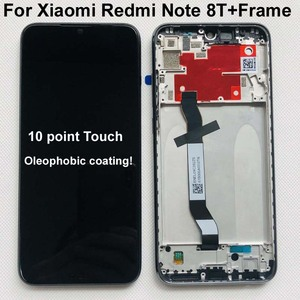 """Image 1 - Original 10Touch For 6.3"""" Xiaomi Redmi Note 8T LCD Display Screen+Touch Screen Digitizer Assembly With Frame For Redmi Note 8T"""