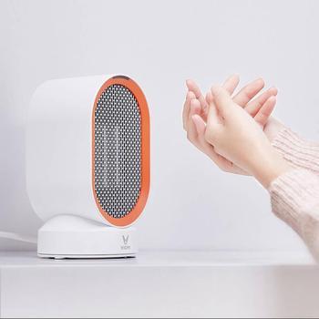 Xiaomi Mijia Viomi Electric Heater Fan Countertop Mini Home Room Convenient Fast Energy Saving Warmer цена 2017
