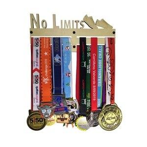 Image 3 - No Limits Never Give Up Marathon metal medal hanger