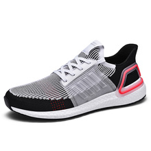 New Large Size Running Shoes for Men Sneakers Breathable Jogging Trainers Sport Shoes Fitnes Walking Sneaker Mens Athletic Shoes new genuine leather cow shoes men sport running shoes breathable jogging walking mens trainers walking chaussures hombre femme