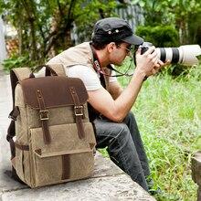 CamDress camera bag Waterproof Batik Canvas Camera backpack National geographic Dslr kamera outdoor Photo фоторюкзак