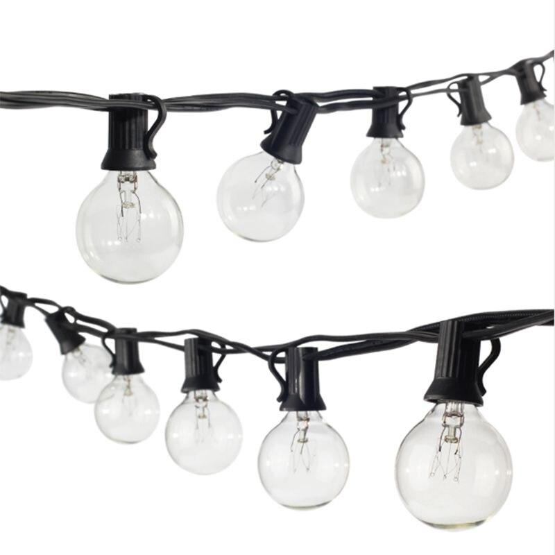 lâmpadas claras, 25ft ul listados para decoração
