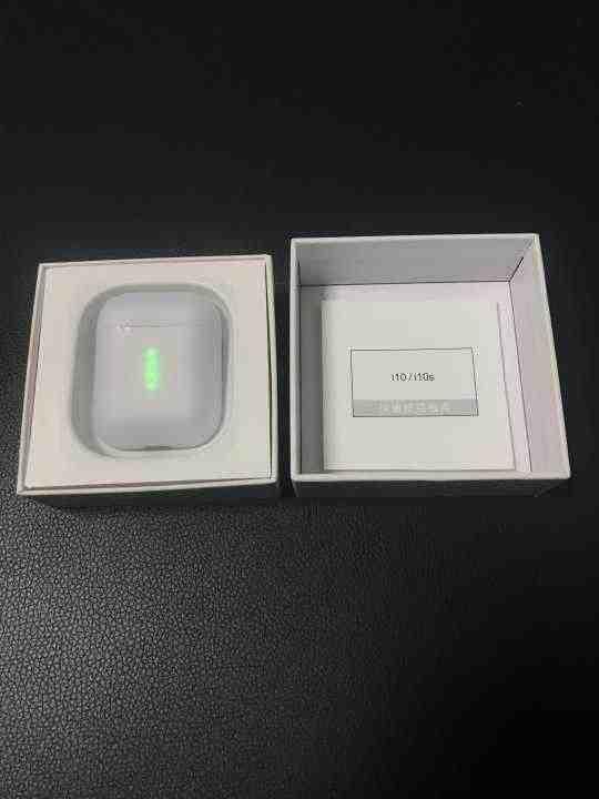 Değer hediye! i10 tws 1:1 orijinal Bluetooth kulaklık kablosuz Bluetooth 5.0 kulaklık dokunmatik kontrol cep telefonu için Android iPhone