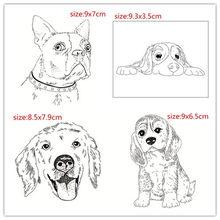 Hunde Transparent Klar Silikon Stempel/Dichtung für DIY scrapbooking/foto album Dekorative klare stempel