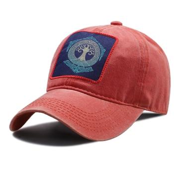 цена на Vikings Print Baseball Caps Men Hip Hop Unisex Snapback Hat Women Outdoor Vintage Brands Baseball Cap Adjustable Breathable Hats