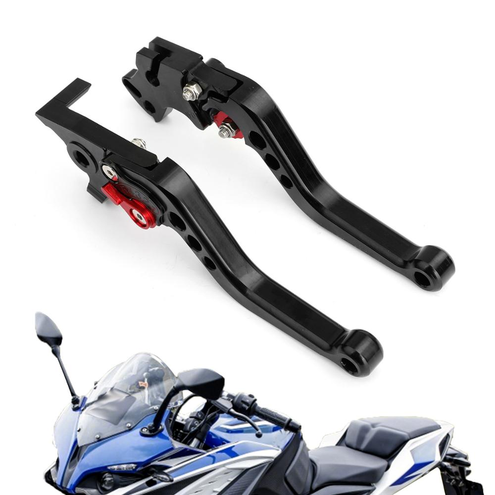 Areyourshop for MODENAS PULSAR NS200 <font><b>RS200</b></font> Brake Clutch Levers Aluminum Left&Right Motorcycle Brake Parts image