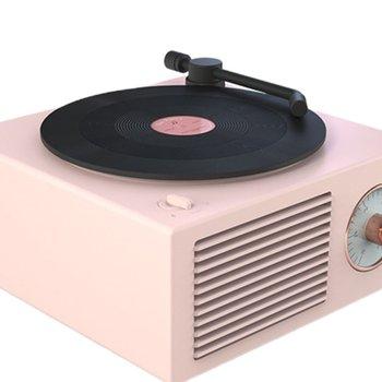 Mini Steel Retro Atomic Speaker Radio Cassette Recorder 6