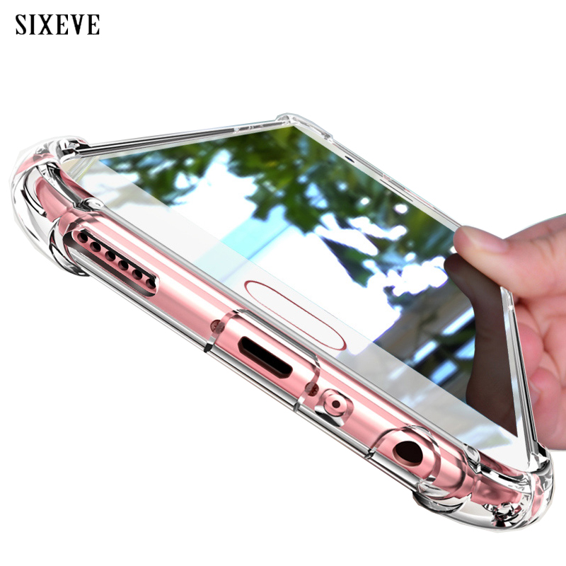 Clear Shockproof <font><b>Case</b></font> For <font><b>Samsung</b></font> Galaxy S8 S9 S10 Plus <font><b>S7</b></font> <font><b>Edge</b></font> Note 8 9 10 A20E A30 A40 A50 A60 A70 A80 A6 A7 A8 A9 2018 Cover image