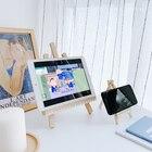 Wooden desktop mobil...