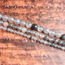Cloud Crystal Natural Stone Beads Loose Stone Beads For Jewelry Making DIY Bracelets Necklace Accessories 4/ 6/8/10mm