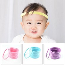 10Pcs/Pack Small Ring Hair Bands Girls Colorful Elastic Hair Rope Tie Kids Rubber Band Ponytail Holder Hair Accessories Headwear(China)