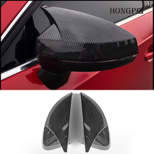 Car Styling Door Side Wing Rearview Mirror Cover Cap Decoration Trim Shell for Audi A3 S3 8V RS3 2013 2014 2015 2016 2017 2018