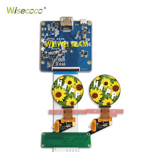 Image 2 - WISECOCO Round AMOLED 1.39 micro OLED Circle screen MIPI display 400*400 scheda controller per smart watch/indossabile