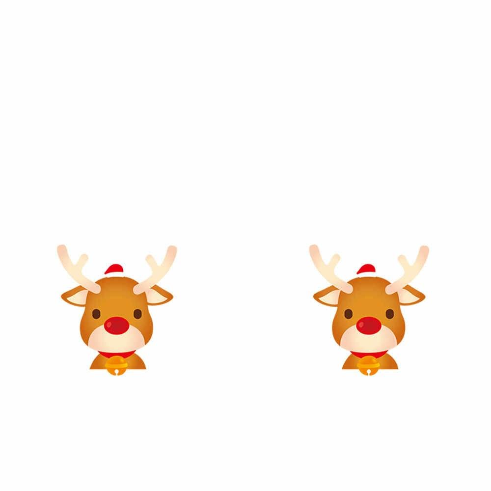 2019 nuovo Buon Natale Autoadesivi Della Parete Per Camere Dei Bambini Complementi Arredo Casa Decalcomanie Della Parete Scuola Materna Del Bambino Fai Da Te Arte DEL VINILE Murale Smontabile 925