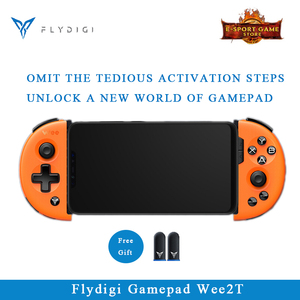 Flydigi Wee2T PUBG For IOS Android Bluetooth Wireless Flashplay 6-Axis Adjustable Gamepad Game Controller