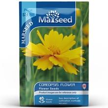 American Heirloom MARSEED Coreopsis Flower  Seedsplants Seedling Garden Outdoor
