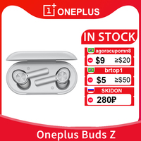 CN Oneplus Buds Z-auriculares TWS, inalámbricos por Bluetooth 5,0, IP55 resistentes al agua, 450mAh, para Oneplus 8T 8 Pro 7