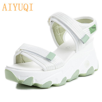 AIYUQI Women Summer Sandals Trend 2020 New Fashion Sneakers Casual Wild Platform Shoes