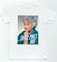Dorothy T-shirt Golden Girls Shady Pines Tee Sophia Petrillo LGBT Retro TV Gym Kaos(China)