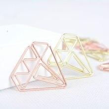 10 шт Изысканный Алмазный металлический зажим Закладка блокнот