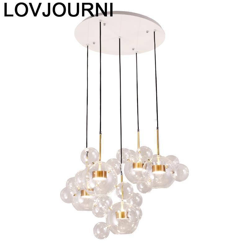 Lampe nordique Luminaire Suspension Suspension lustre Moderne Design Suspendu lampe à Suspension Lampara Colgante