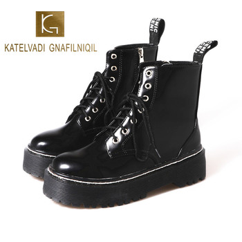 KATELVADI Ankle Boots High Quality Split Leather Comfortable Square Heel Shoes Keep Warm Round Toe Winter Boots XYL-001 sophitina wool winter boots high quality genuine leather comfortable round toe square heel shoes new handmade women boots c624