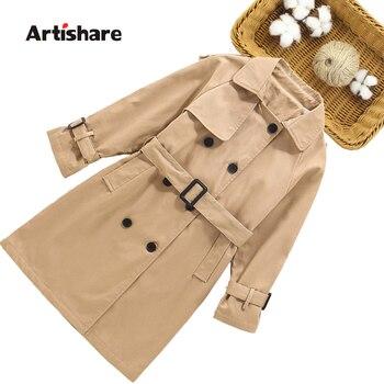 Girls Long Coat 1