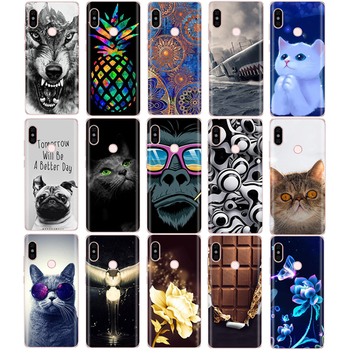 silicone case For 5.99 inch Xiaomi Redmi Note 5 global pro Case Cover redmi note 5 Snapdragon 636 version hongmi note5 pro case image