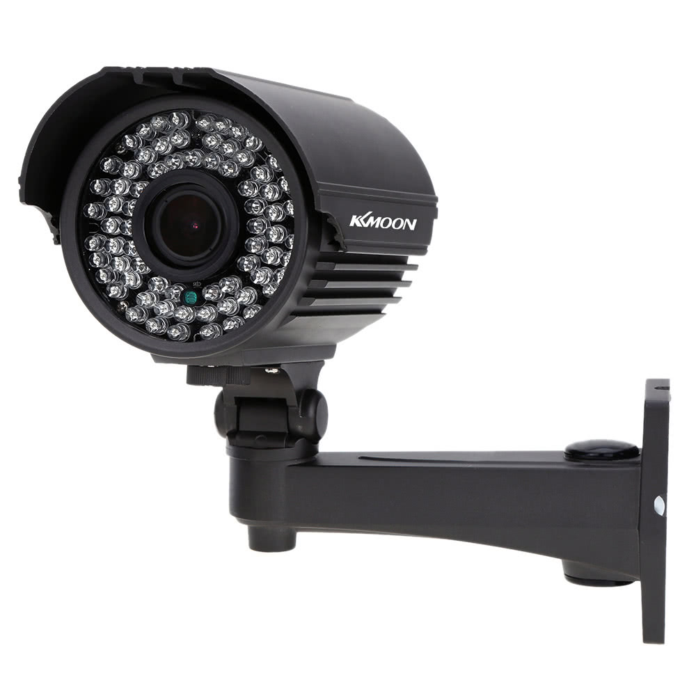 "KKmoon TP-E225iRE Security Camera Waterproof Outdoor CCTV 1/3"" Sony CMOS 1200TVL 72IR LED IR-CUT 2.8~12mm Zoom Varifocal"