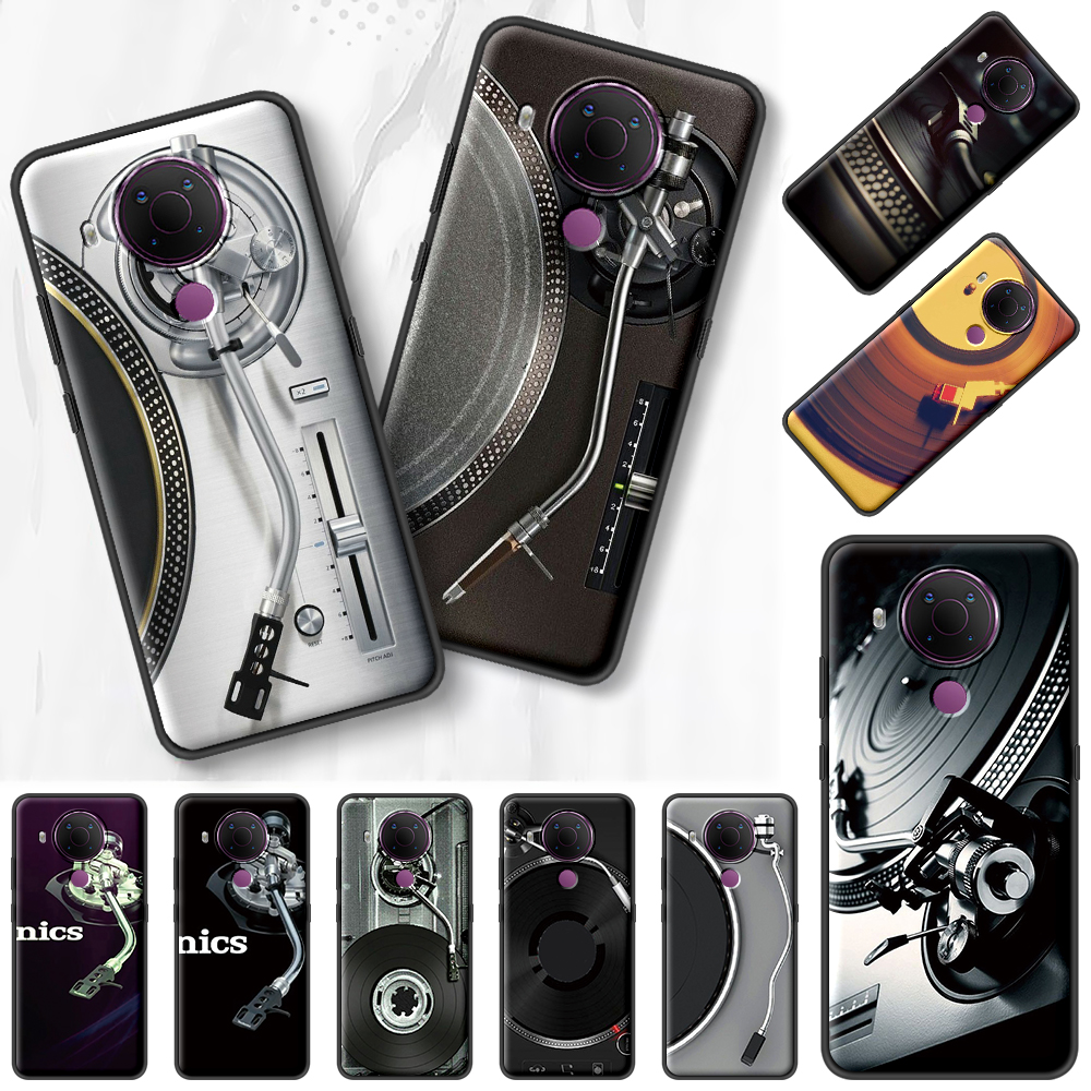 Technics 1210S Dj Black Capa For Nokia 7.2 5.3 2.3 3.4 1.4 5.4 2.4 4.2 3.2 8.3 5G 1.3 2.2 C3 C2 Tenen Soft Phone Case Cover