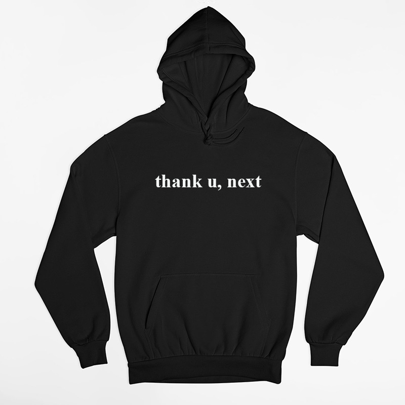 Ariana Grande Thank U Next Hoodie Women Men Casual 7 Rings Sweatshirt Unisex Harajuku Pink Women's Clothes Sudaderas Mujer