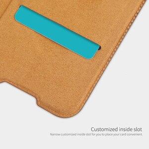 Image 4 - Voor Xiaomi Redmi Note 8 Pro / Note 8T Case Nillkin Qin Classic Flip Pu Cover Vintage Flip Lederen back Cover Met Card Slot