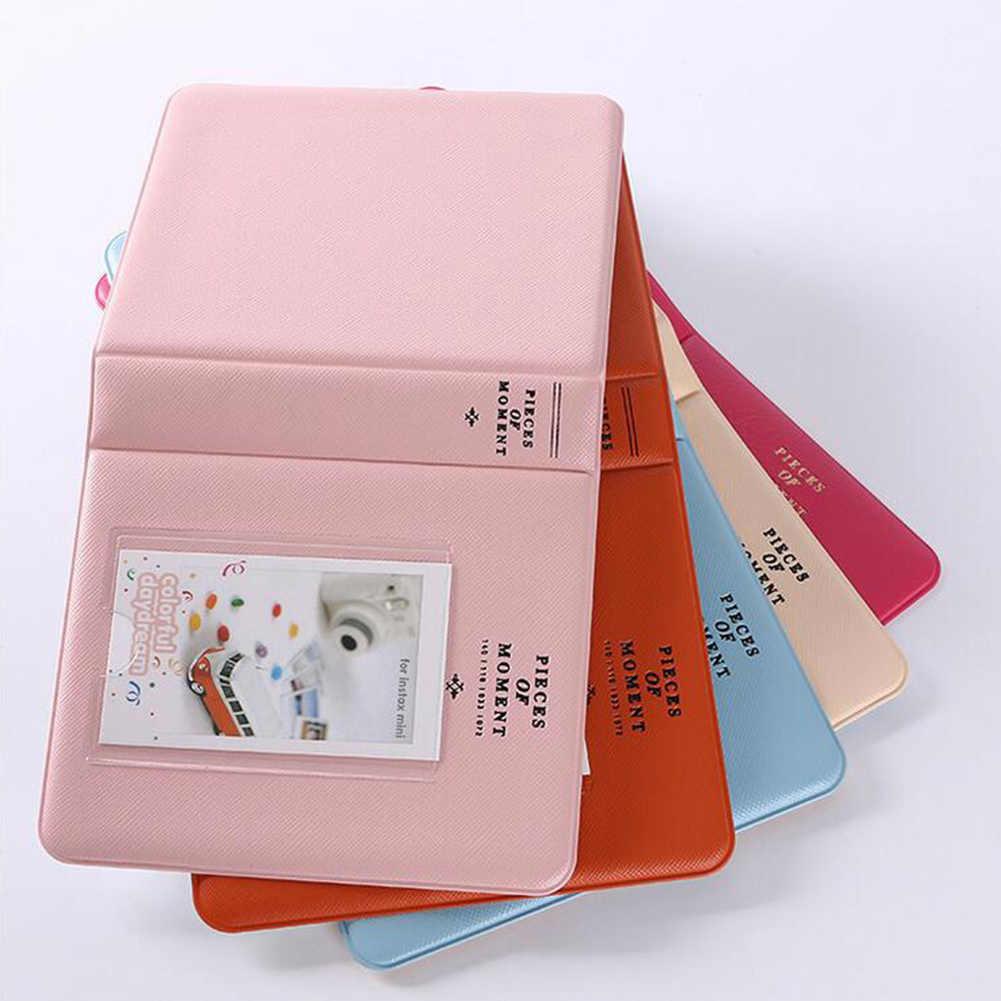 64 kieszenie 3 cal Mini Polaroid natychmiastowy pamięć Album fotograficzny obraz opakowanie na prezent do aparatu fotograficznego Fujifilm Instax natychmiastowy obraz przypadku
