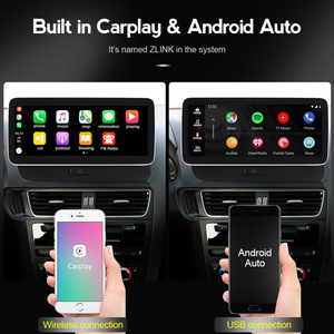 Image 5 - MEKEDE Radio con GPS para coche, Radio con sistema Android 10, DVD, navegador Navi, Carplay, WIFI, Google BT, música, SWC, para Audi A4 2004 2016