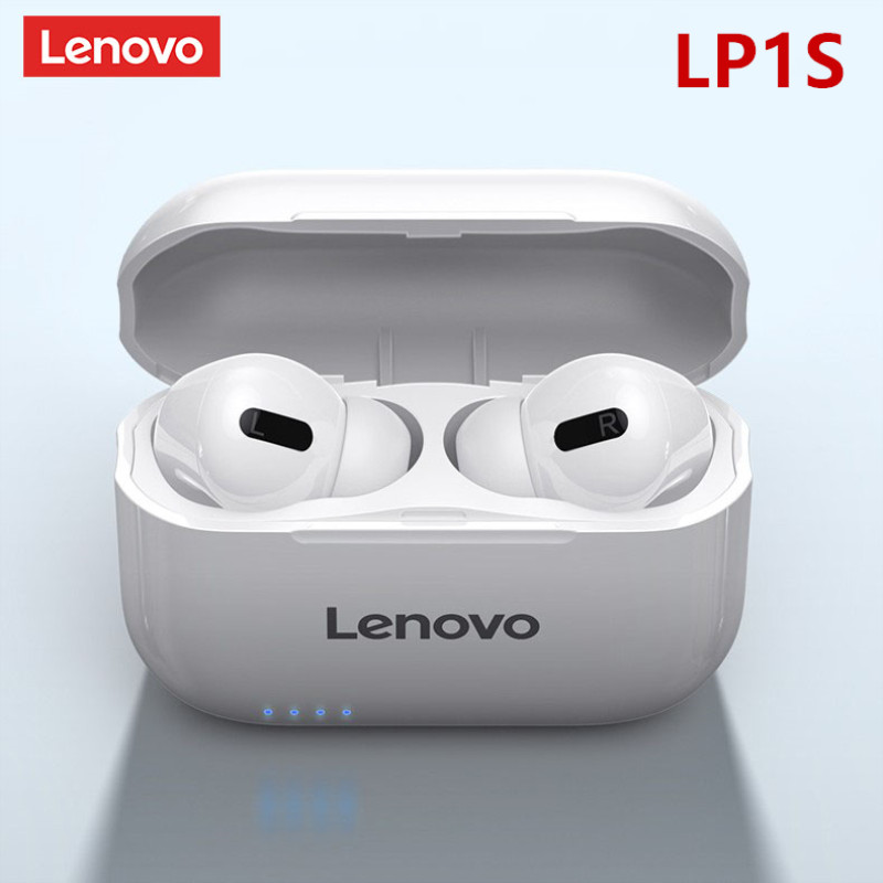 Lenovo LP1S TWS Bluetooth Earphone Sports Wireless Headset Stereo Earbuds HiFi Music With Mic For Android IOS Smartphone