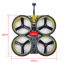 2020 New iFlight BumbleBee CineWhoop 4S 6S PNP/BNF Quadcopter with SucceX-E F4 Flight Control 40A ESC 500mW VTX Motor