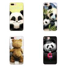 Cute Bear And Panda Ultrathin For Huawei P7 P8 P9 P10 P20 P30 Lite Mini Plus Pro Y9 Prime P Smart Z 2018 2019 TPU Print Case(China)