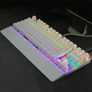 Игровая механическая клавиатура с подсветкой USB Проводная 26 клавиш против привидения игровая клавиатура AS99