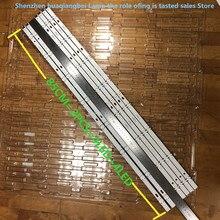 12 יח\חבילה עבור חדש תאורה אחורית מערך LED רצועות ברים LG UF64_UHD_A 6916L 2550A 43LH60_FHD_A 100% חדש 8LED = 2 חתיכות = 850MM