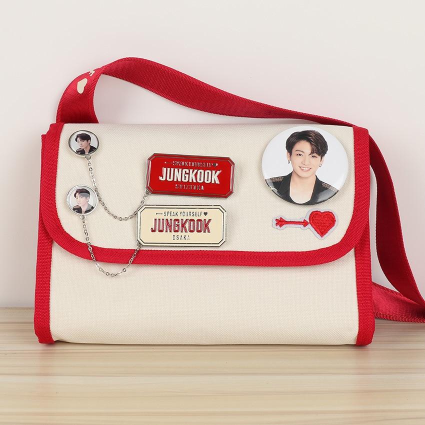 Image 5 - 7pcs/lot Kpop J HOPE suga RM Jimin V JungKook Jin world tour Japan edition metal chain pins brooch badge toy giftAction & Toy Figures   -