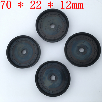 4pieces Car repair parts Grinding Machine tire removal machine accessories small cylinder rubber piston 70 * 22 * 12mm