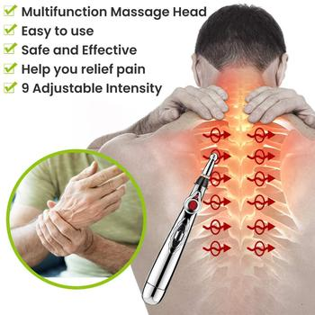 Electronic Multi-functional acupuncture pen