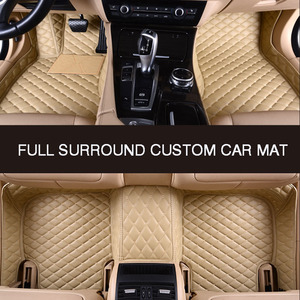 Image 1 - HLFNTF Full surround custom car floor mat For toyota camry 2007 2008 2009 corolla 2011 land cruiser prado 120 prius